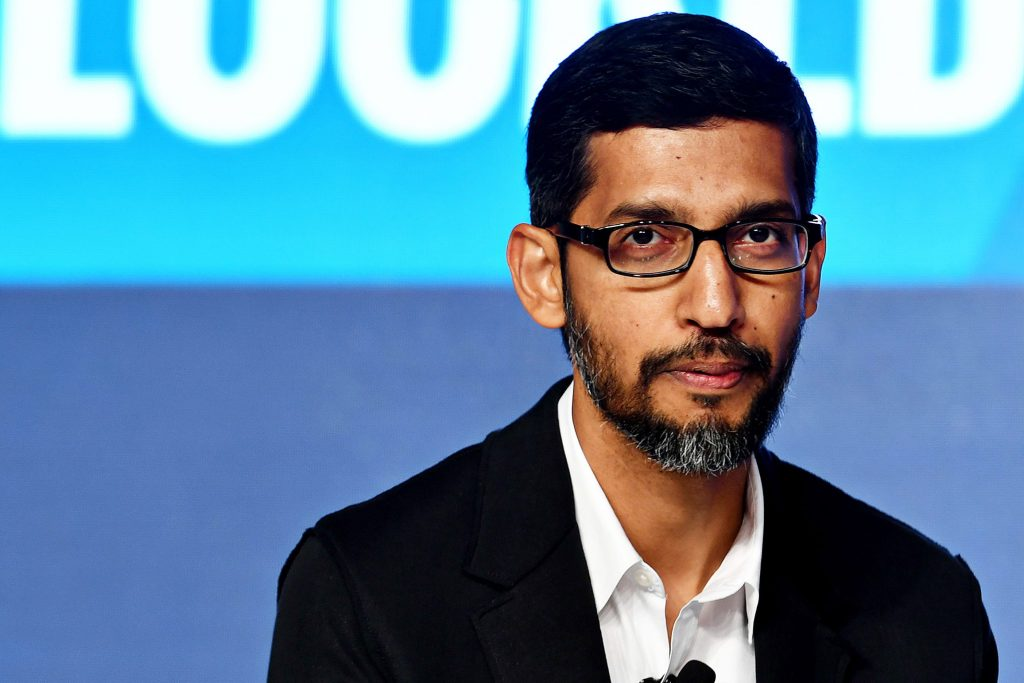 Alphabet CEO tells employees the company will slow hiring, investments