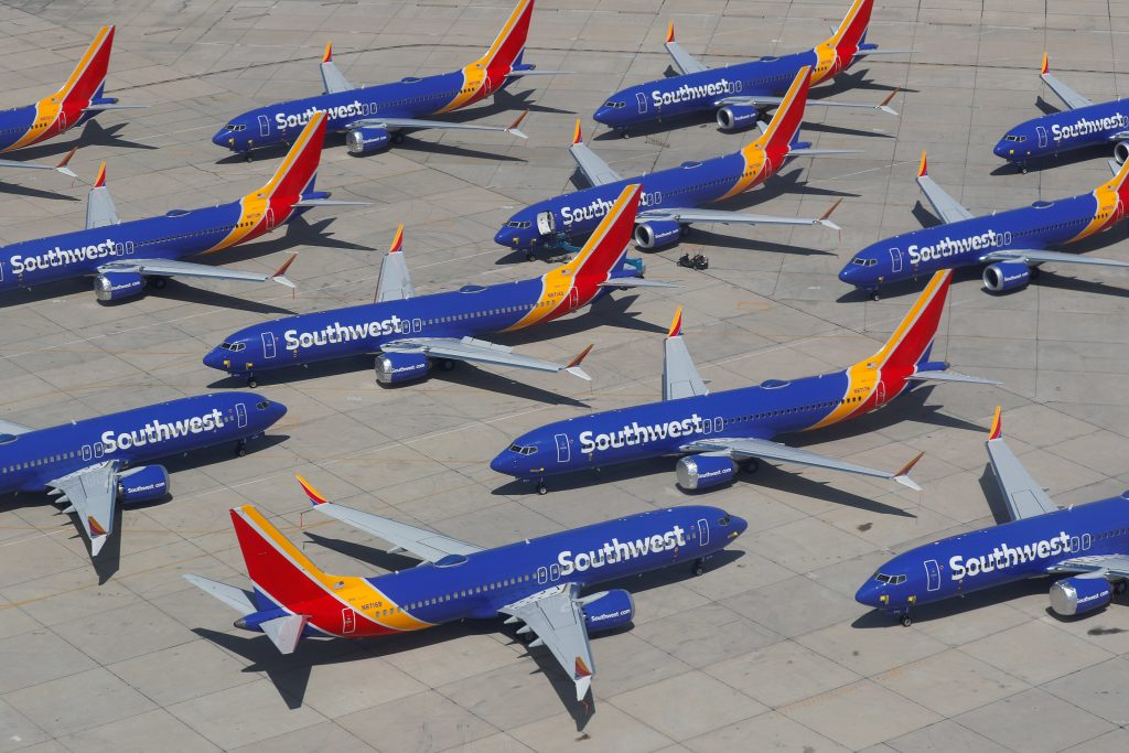 Southwest Airlines (LUV) earnings Q1 2020 results in loss and revenue plunge