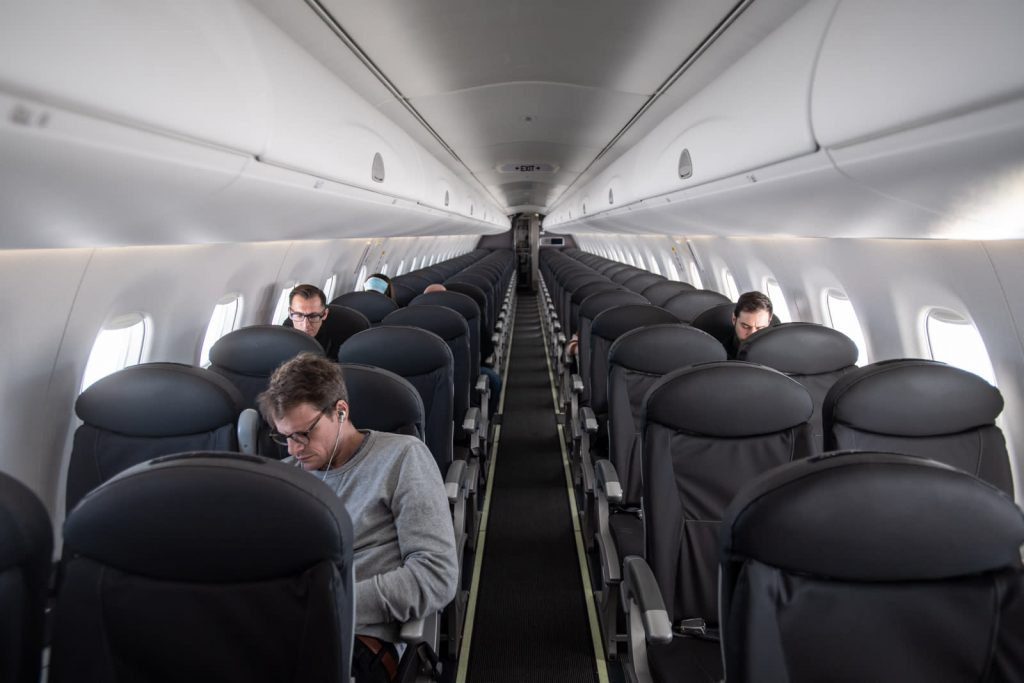 Treasury Department says larger airlines have compensate taxpayers