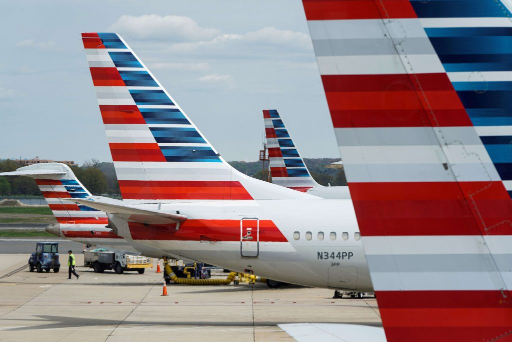 American alerts travelers about crowded flights to calm pandemic fears