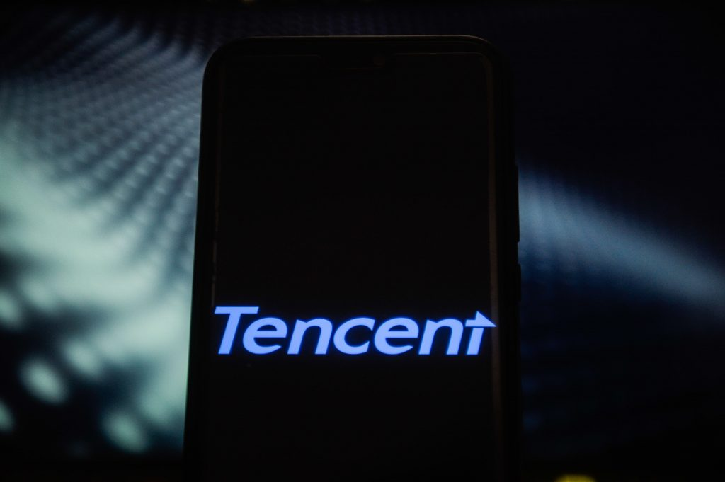 Tencent shares hit a more than 2-year high after smartphone games led to an earnings beat