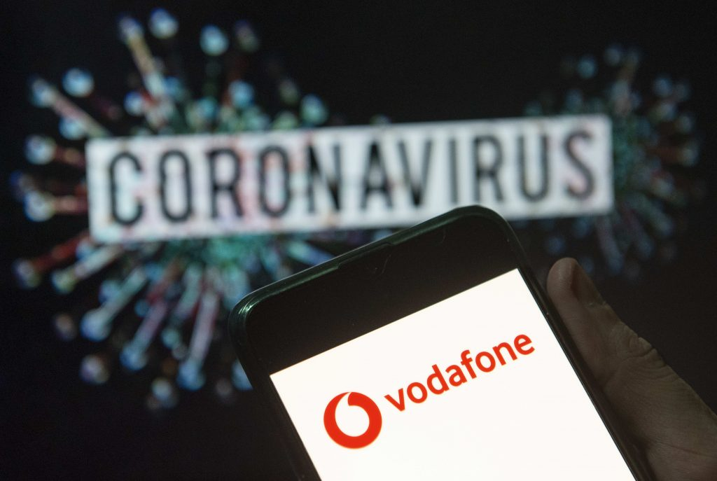 Vodafone meets earnings expectations, pulls guidance due to Covid-19