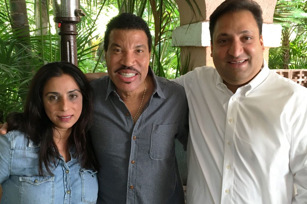 Start-up backed by Lionel Richie addresses Covid-related health crisis