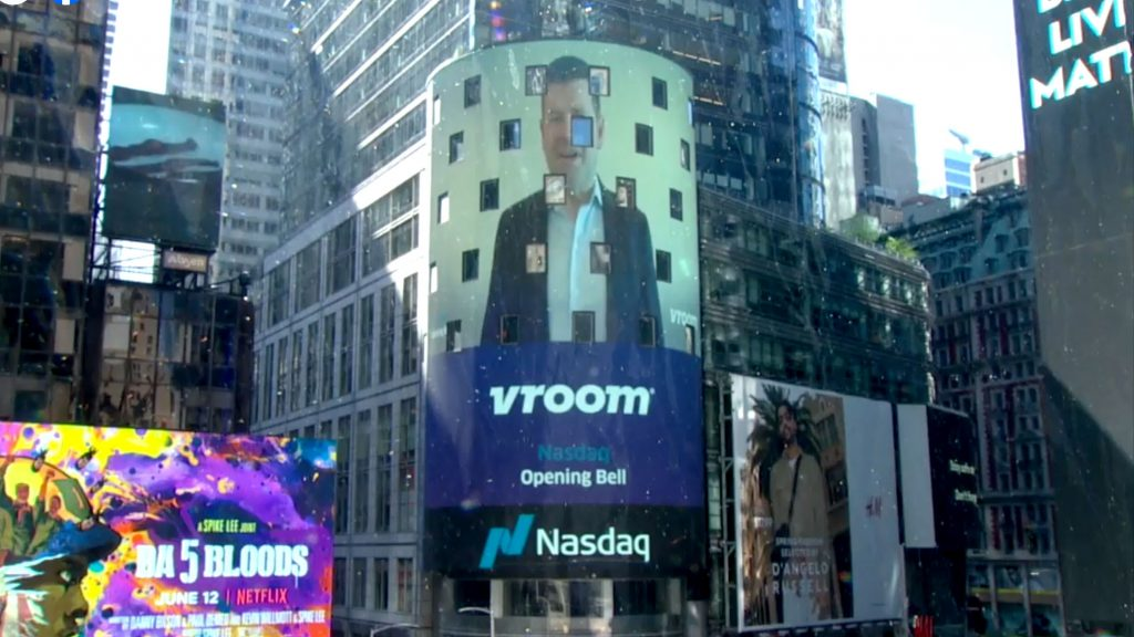 Shares of Vroom more than double in IPO