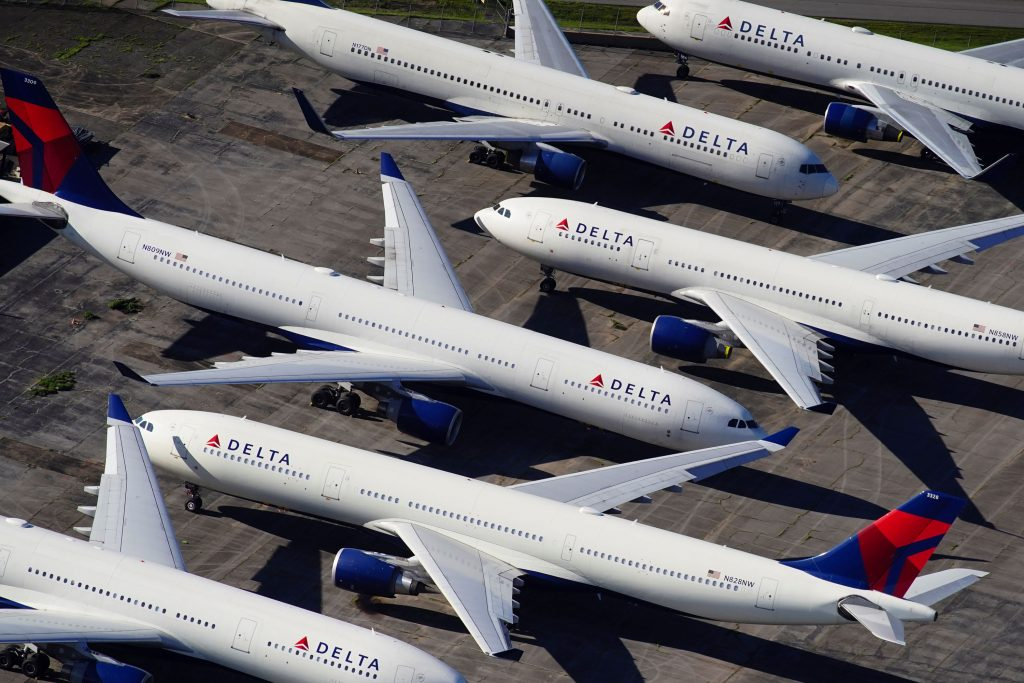Delta could be litmus test for rest of travel stocks