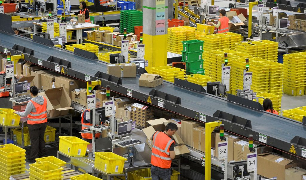Amazon closes New Jersey warehouse after Covid-19 infections